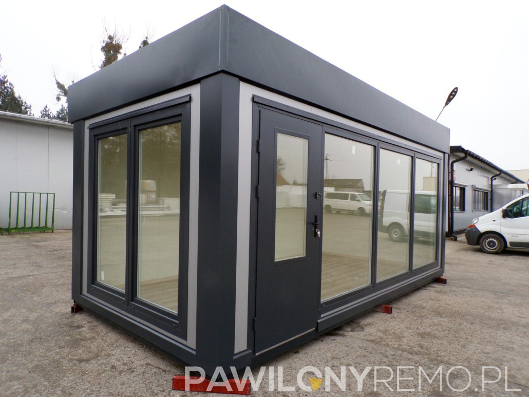 Kontener handlowy 6x3m