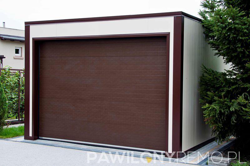Garaże Z Płyty Warstwowej Garaż Z Płyt Warstwowych Garaż Ocieplany