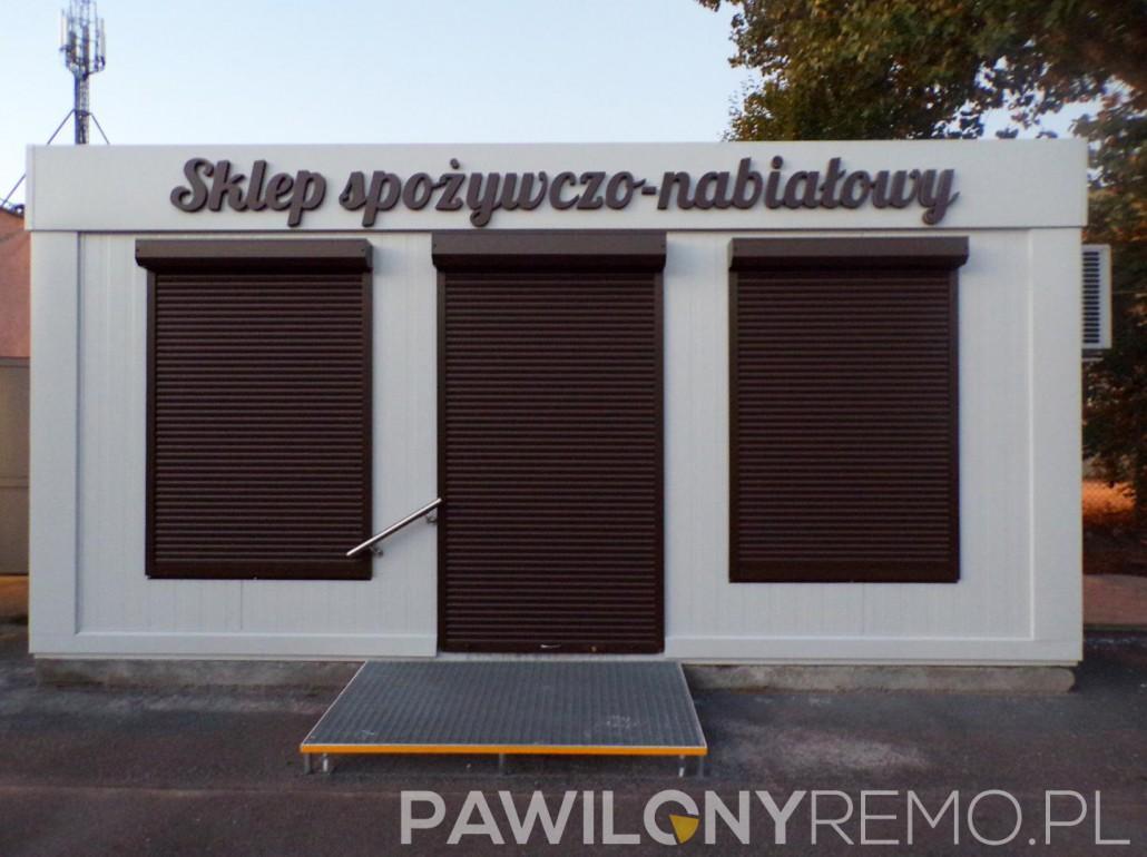 Pawilon handlowy - sklep